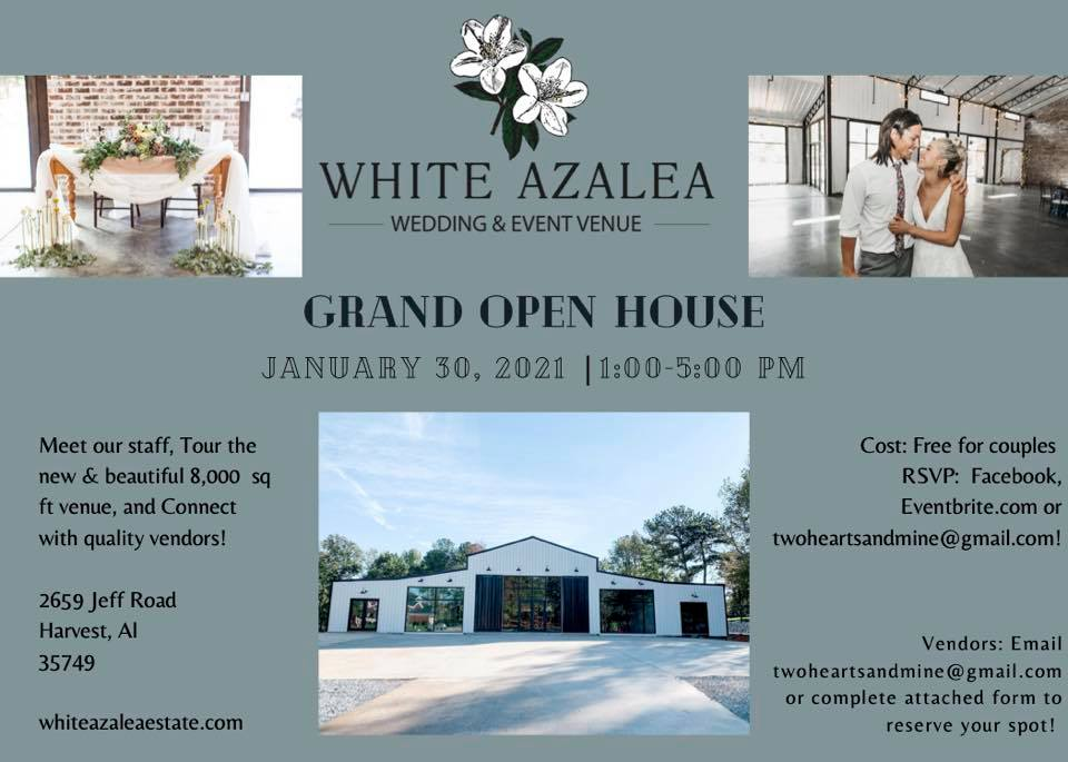 White Azalea Open House